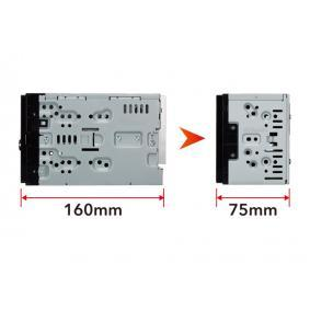 DMX120BT Multimedia receiver for vehicles