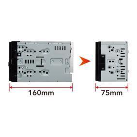 DMX120BT Multimediamottagare för fordon