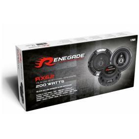 Głośniki do samochodów marki RENEGADE - w niskiej cenie