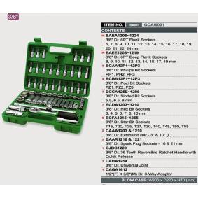 TOPTUL Steckschlüsselsatz GCAI6001 Online Shop