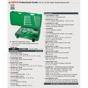 TOPTUL Werkzeugsatz GCAI106B Online Shop