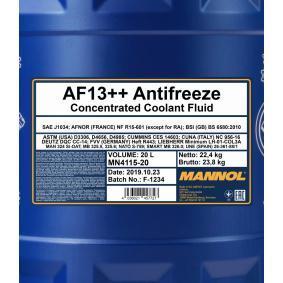 Nemrznoucí směs do chladiče MN4115-20 MANNOL