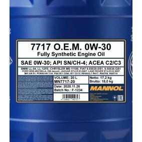 SAE-0W-30 Motoröl MANNOL MN7717-20 Online Shop