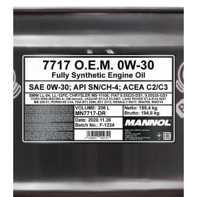 SAE-0W-30 Motoröl MANNOL MN7717-DR Online Shop