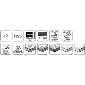 Hogert Technik Folha de serrote HT6D670-2 loja online