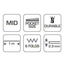 Hogert Technik Cinta métrica HT4M261-D tienda online