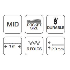 Hogert Technik Rolmaat, meetband HT4M261-D online winkel