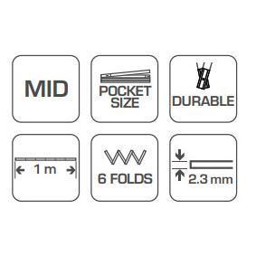 Hogert Technik Fita métrica HT4M261-D loja online