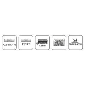Hogert Technik Nível de bolha HT4M001-D loja online