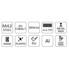 Hogert Technik Sierra con hojas circulares HT6D403 tienda online