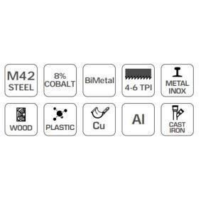 Hogert Technik Sierra con hojas circulares HT6D414 tienda online