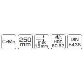 Hogert Technik Tesoura para cortar chapa HT3B504 loja online
