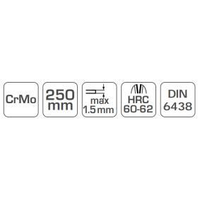 Hogert Technik Nůżky na plech HT3B505 online obchod