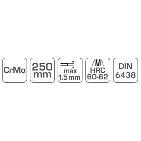 Hogert Technik Cesoie per lamiera HT3B505 negozio online