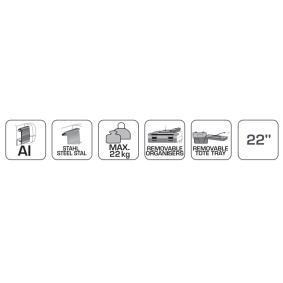 Hogert Technik Горен к-кт, количка с инструменти HT7G064 онлайн магазин