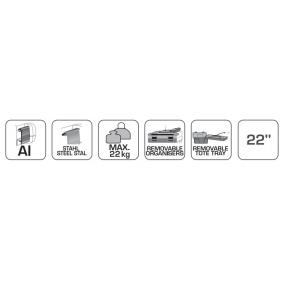 Hogert Technik Utökning, verktygsvagn HT7G064 nätshop