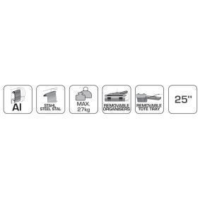 Hogert Technik Dulap scule detasabil pentru carucior scule HT7G065 magazin online