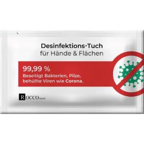 PKW ROCCO Handdesinfektionstücher - Billiger Preis