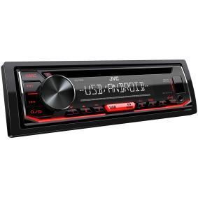 Stereo pro auta od JVC: objednejte si online