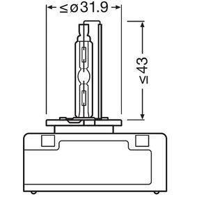 Крушка с нагреваема жичка, фар за дълги светлини 66540 онлайн магазин