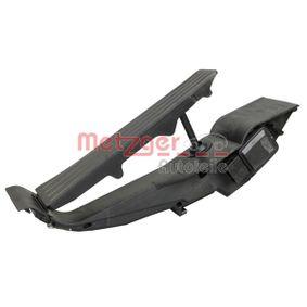 Sensor, Gaspedalstellung 0901313 METZGER