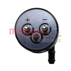 METZGER Waschwasserpumpe, Scheibenreinigung 1408690021 für MERCEDES-BENZ, SMART bestellen