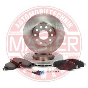 Kit de freins, frein à disques MASTER-SPORT Art.No - 202501451 OEM: 5Q0698151A pour VOLKSWAGEN, AUDI, SEAT, SKODA récuperer