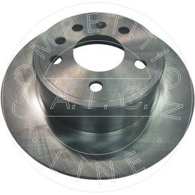 Bremsscheibe AIC Art.No - 53654 OEM: 5084751 für OPEL, CHEVROLET, SAAB, VAUXHALL kaufen
