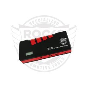 Baterie, pomocné startovací zařízení pro auta od ROOKS: objednejte si online