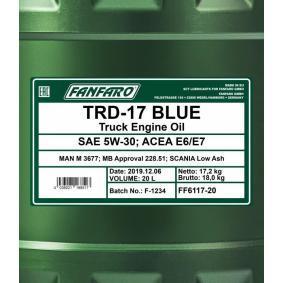 MB 228.51 Aceite de motor FF6117-20 tienda online