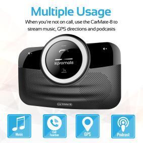 PROMATE 8038 Bluetooth koptelefoon