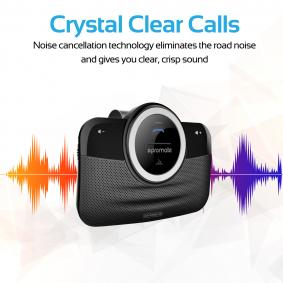 PROMATE Bluetooth-headset 8038 på rea