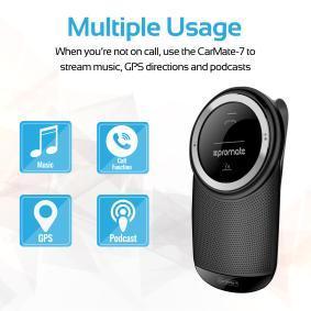 PROMATE Ακουστικά κεφαλής με λειτουργία Bluetooth 8039