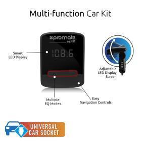 PROMATE Ακουστικά κεφαλής με λειτουργία Bluetooth 7064