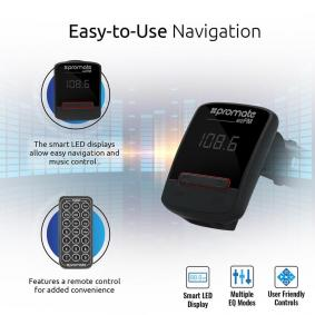 PROMATE Bluetooth-headset 7064 på rea