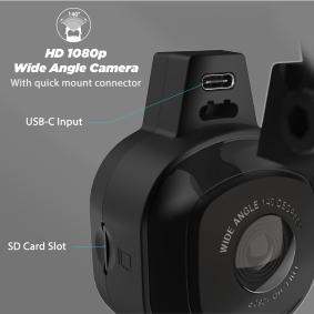8095 SCOSCHE Palubní kamery levně online