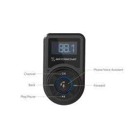 FM transmitter pro auta od SCOSCHE – levná cena