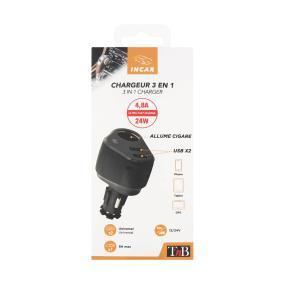 TnB Charging cable, cigarette lighter 8101 on offer