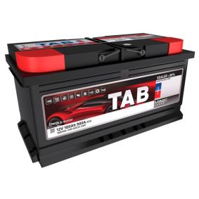 Starterbatterie TAB Art.No - 189099 OEM: 8E0915105D für VW, MERCEDES-BENZ, OPEL, BMW, AUDI kaufen