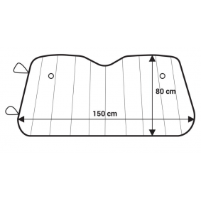 Windscreen cover for cars from AMiO - cheap price