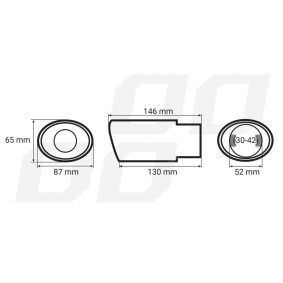 01303 AMiO Exhaust Tip cheaply online