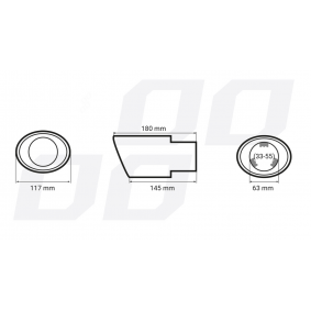 Déflecteur de tuyau de sortie AMiO à prix raisonnables