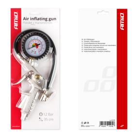 Däcktrycksprovare / -fyllare för bilar från AMiO – billigt pris