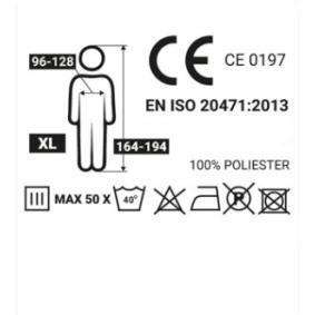 Kamizelka sygnalizacyjna do samochodów marki AMiO - w niskiej cenie