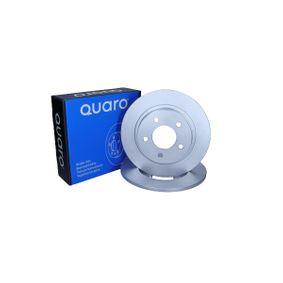 3 (BK) QUARO Disco de freno QD0481