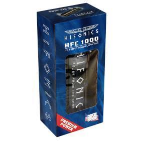 Kondensator samochodowy do samochodów marki HIFONICS - w niskiej cenie