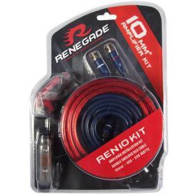 Sada kabelů k zesilovači pro auta od RENEGADE – levná cena
