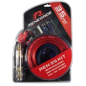Versterker kabelset voor auto van RENEGADE: voordelig geprijsd