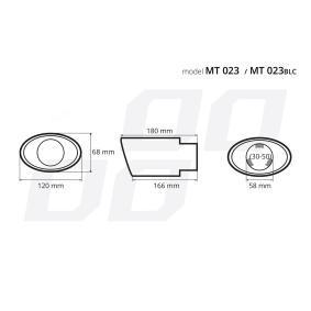 02355 Deflector tubo de escape para vehículos