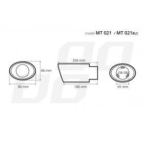 02353 Deflector do tubo de escape para veículos